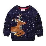 Little Hand Baby Girls Sweatshirt Christmas Xmas Jumper Kids Cute...