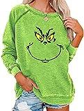 Womens Grinches Sweatshirt, Bprtcra Christmas Grinches Print...