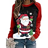 Zilosconcy Christmas Pullover Womens Sweatshirts Jumpers, Casual...