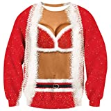 Goodstoworld Womens Novelty Christmas Jumper for Ladies Funny Red...