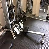 Heavy Duty Large Rubber Mat Checker Plate 12mm Garage Gym...