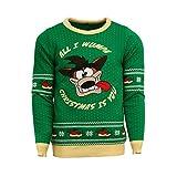 Numskull Unisex Official Crash Bandicoot Knitted Christmas Jumper...