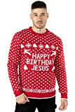 NOROZE Men's Adults Novelty Naked Santa Merry Christmas Knitted...