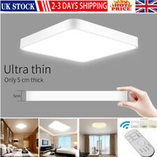 Bright Square LED Ceiling Down Light Panel Wall Kitchen Bathroom Lamp 20W-72W