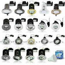 Fire Rated Downlights LED GU10 Recessed Ceiling Spotlight IP65 Shower Spot Light