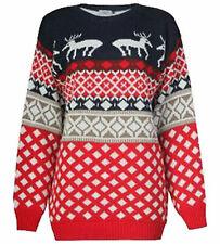 Ladies Womens Mens unisex Jumper Christmas Festival Top New Xmas Novelty Sweater