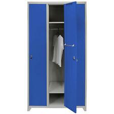 Metal Lockers Steel Staff Storage Lockable Gym Changing Room with Magnets & Keys