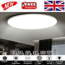Modern LED Ceiling Light Panel Down Lights Living Room Bathroom Wall Lamp12-50W